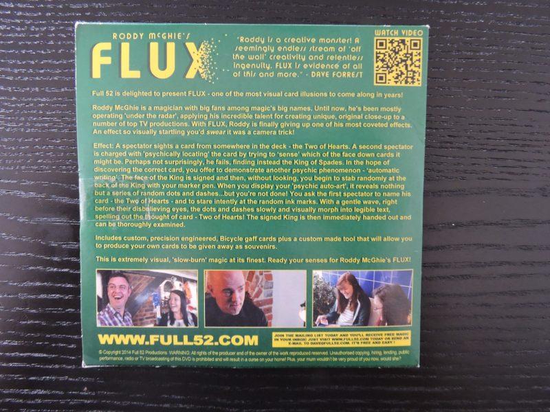 Flux Roddy McGhie