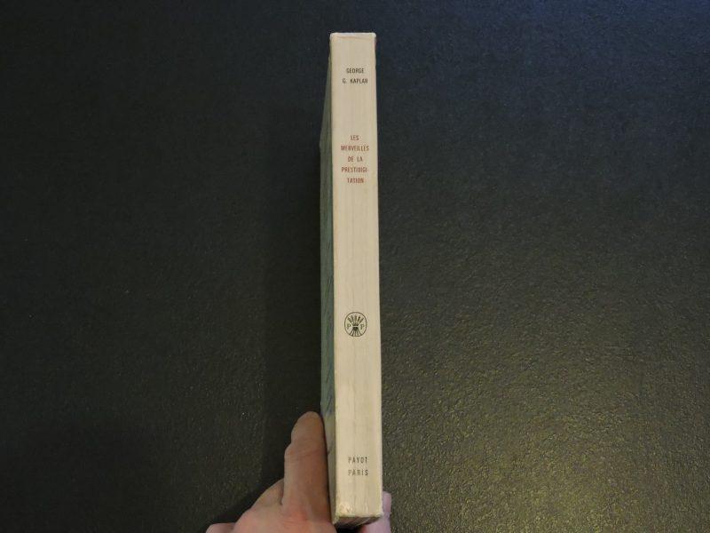 PAYOT Les merveilles de la prestidigitation George G. Kaplan Edition 1971