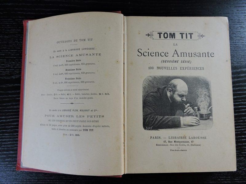 Tom Tit La science amusante 2eme série Arthur GOOD