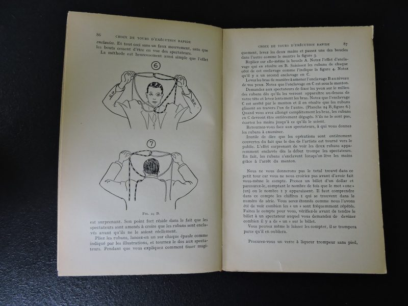 PAYOT Précis de prestidigitation Bruce Elliott Edition 1953