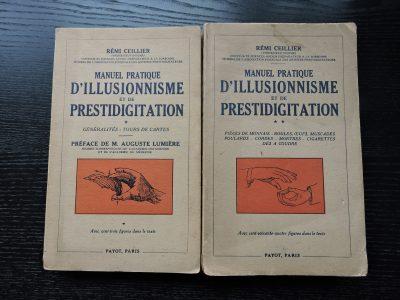 PAYOT Manuel pratique d'illusionnisme et de prestidigitation Rémi Ceillier (Professeur Boscar) Edition 1948