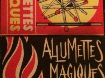 Allumettes Magiques Gérard Majax