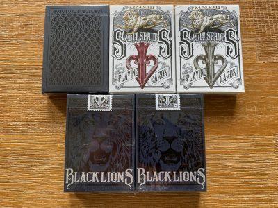Cartes David Blaine Black Lions / Split Spades