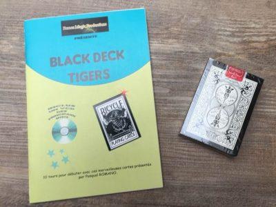 black deck tigers + livret
