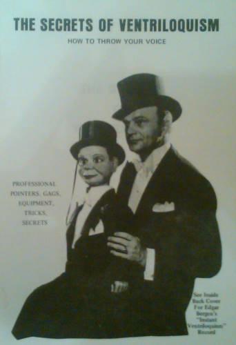 Nombreux livres de ventriloquie
